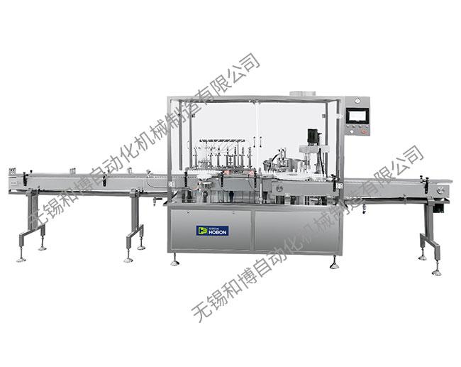 HBGX-8 八針液體灌裝旋蓋機