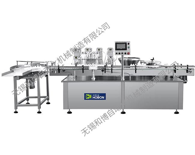 HBGJ-12 十二针蠕动泵灌装加塞机