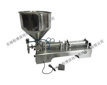 HBG-BZ项目半自动灌装机